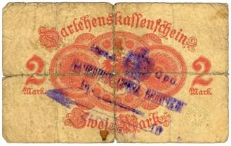 Serbische Stempel Auf Deutschen Banknoten Moneypedia