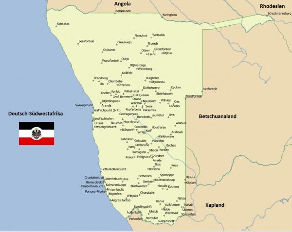 Got Karte Deutsch.Deutsch Südwestafrika Moneypedia